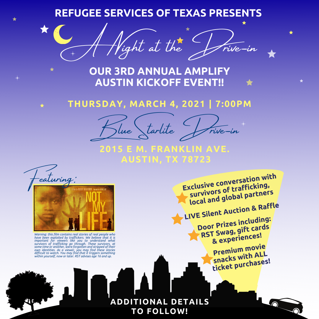 Amplify Austin 2021 Kickoff Event: A Night at the Drive-In!