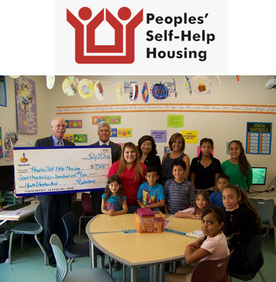 Rabobank Donates $7,500 for Peoples' Self-Help Housing Youth Education Program