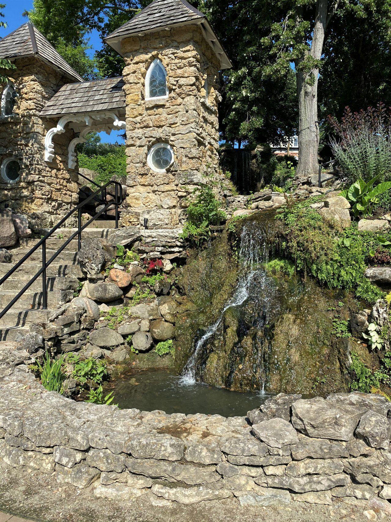 15. Col. Edwin F. Brown Memorial Waterfall & Grotto Gardens