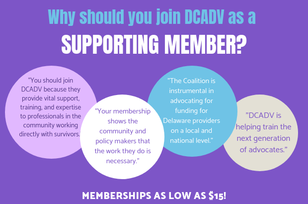 Join DCADV as a Member today!