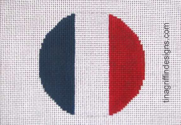 France Luggage Tag