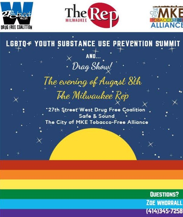LGBTQ+ Youth Substance Use Prevention Summit