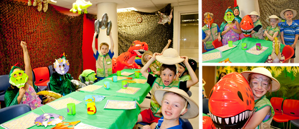Lincoln Childrens Museum Birthday Party Packages