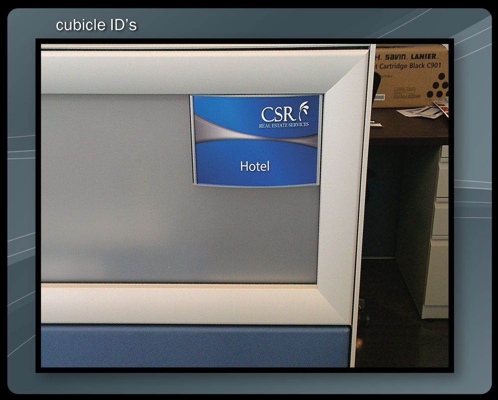 CUBICLE INSERTS