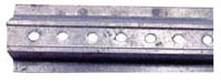 "u-Channel-Galvanized Post-2 Lbs Per Ft. 3"" x 1.5""-8 Ft."