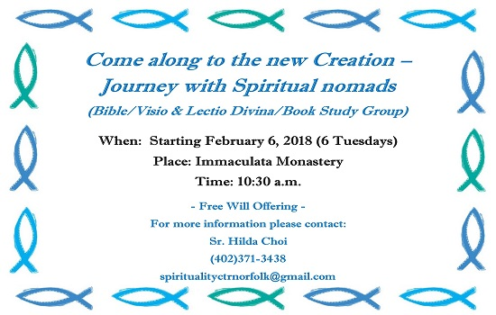 Come Along to the New Creation - Journey with Spiritual Nomads