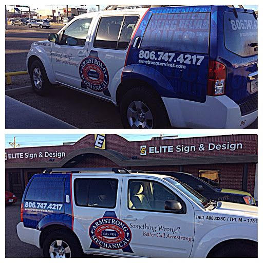 Vehicle Wraps Lubbock, TX- Elite Sign & Design