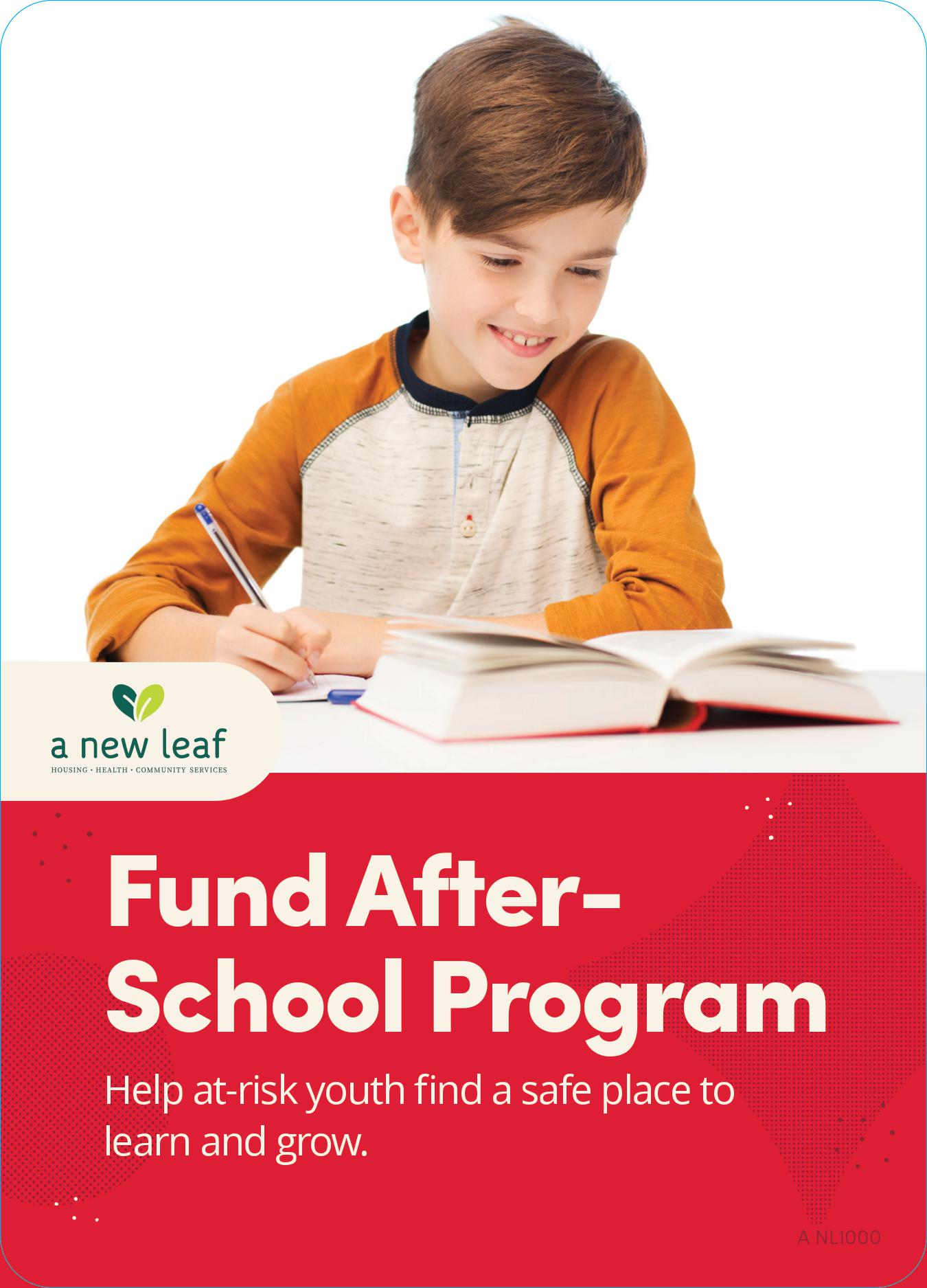 $25 - Education for a Child in Need