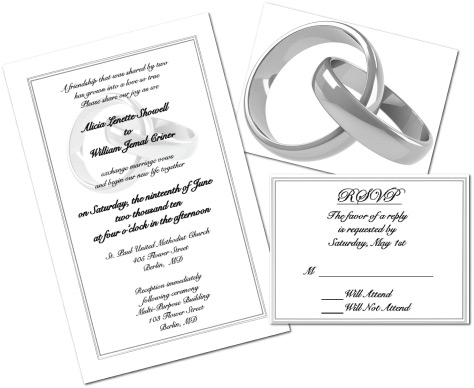 Customer Service Area Products Services Minuteman Press, Wedding Invitations