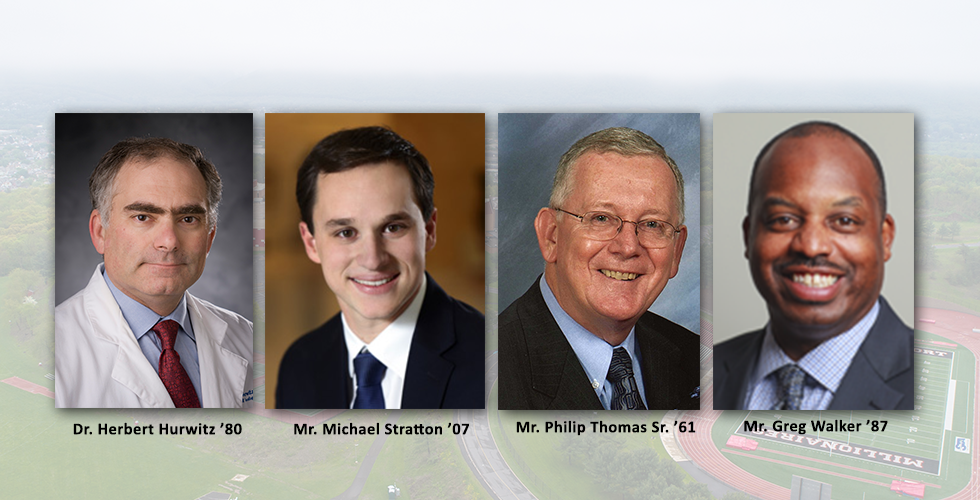 4 Selected to Receive 2018 Distinguished Alumni Awards