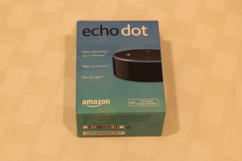 Amazon Echo Dot - Donated by McInturf-Fulmer Insurance Group