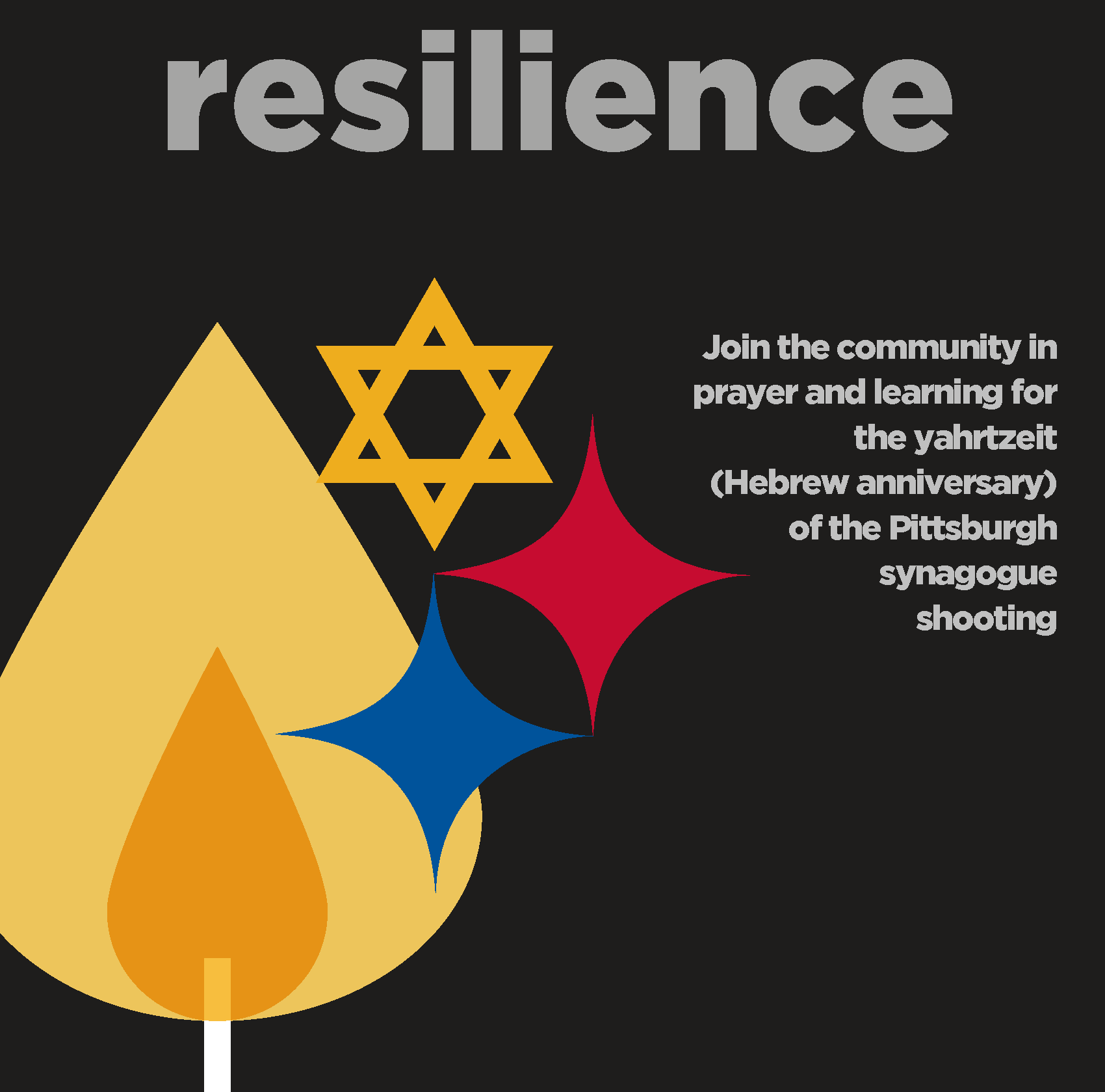 Yahrtzeit for Pittsburgh: kick-off of Rabbis in the Round