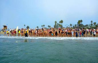 Annual Ocean Swim Raises Record Amount!