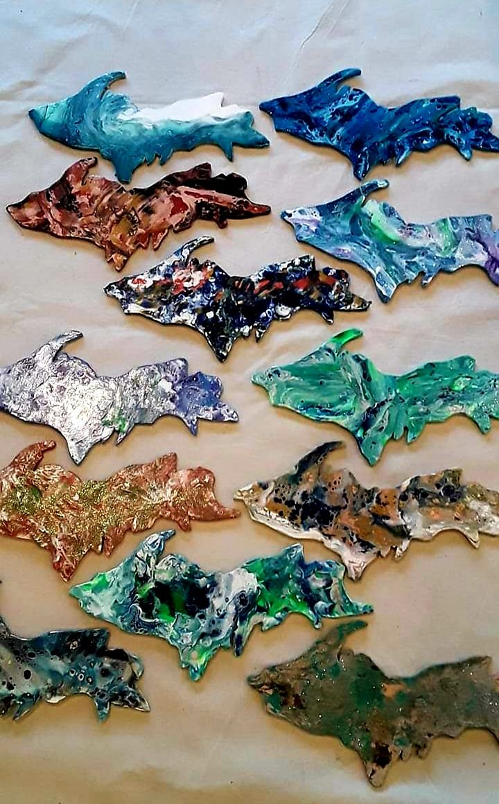 U.P. Acrylic Pour Class with Linda Anderson-Paine
