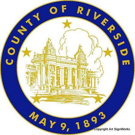 X33377 - Seal of Riverside County, California