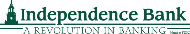 Independence Bank Sponsor Logo