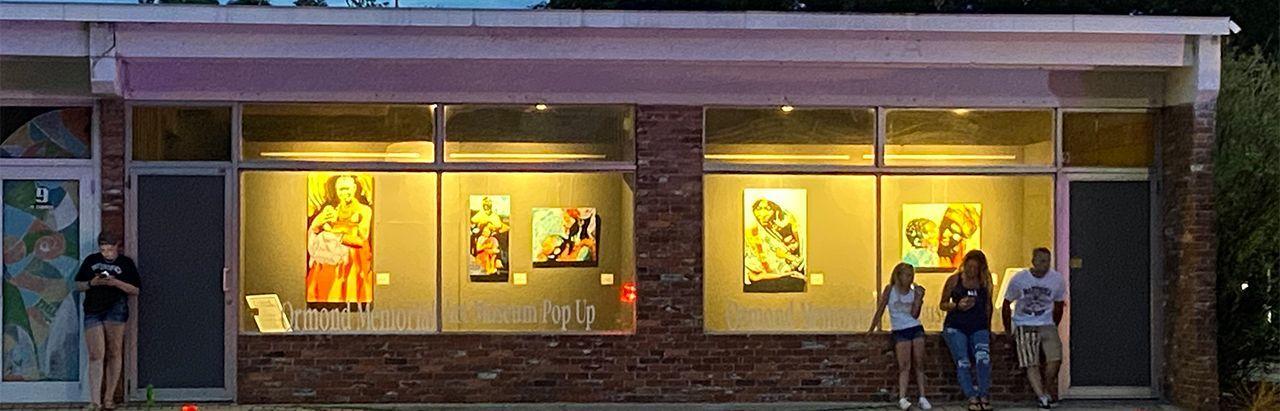 Pop-Up Window Exhibit