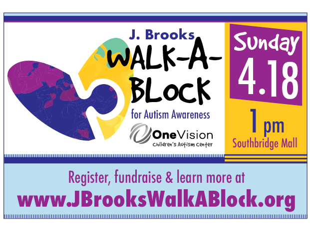 J. Brooks Walk-A-Block for Autism Awareness is back!