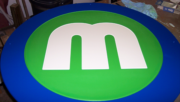 Metro Transit CNC Router Carved PVC Sign