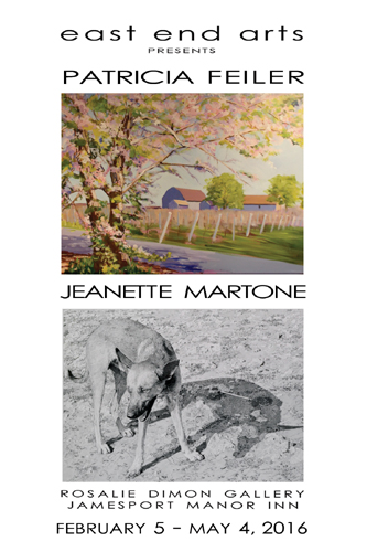 Artists Reception at the Rosalie Dimon Gallery: Featuring Artists Patricia Feiler & Jeanette Martone (posted March 2, 2016)