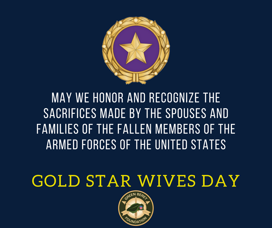 Gold Star Wive's Day