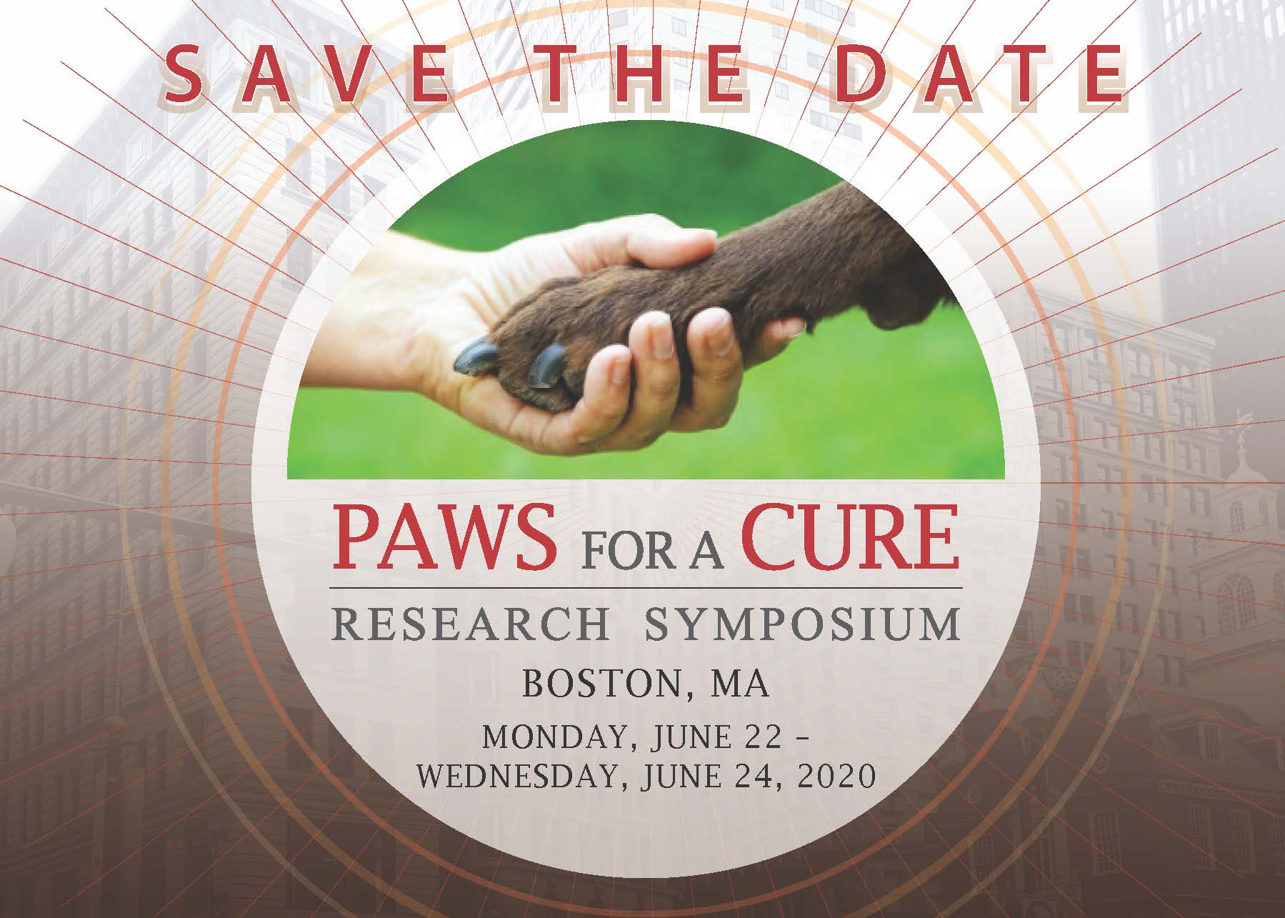 Paws for a Cure 2020 Research Symposium
