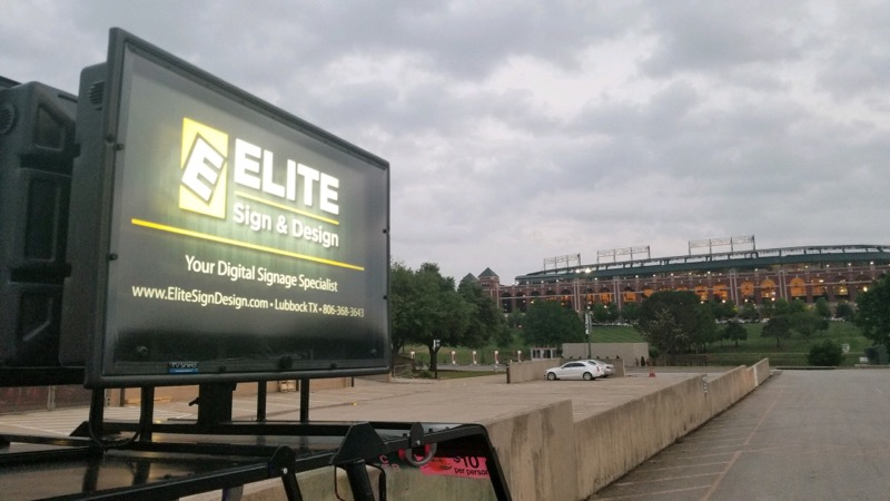 Digital Signs Lubbock, TX - Elite Sign & Design