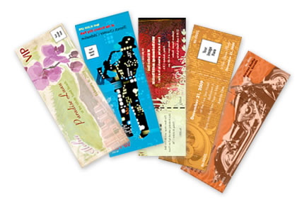markham ticket printing service quality custom event tickets and