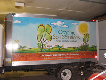 upper canada signs graphics products services ForOrganic Soil Solutions