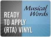 Ready to Apply (RTA) Vinyl