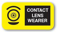 Contact Lens Wearer Label
