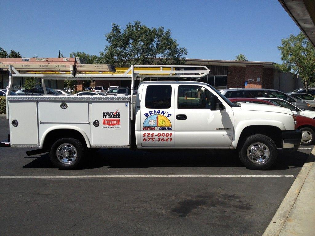 Brian's Heating & Air Truck