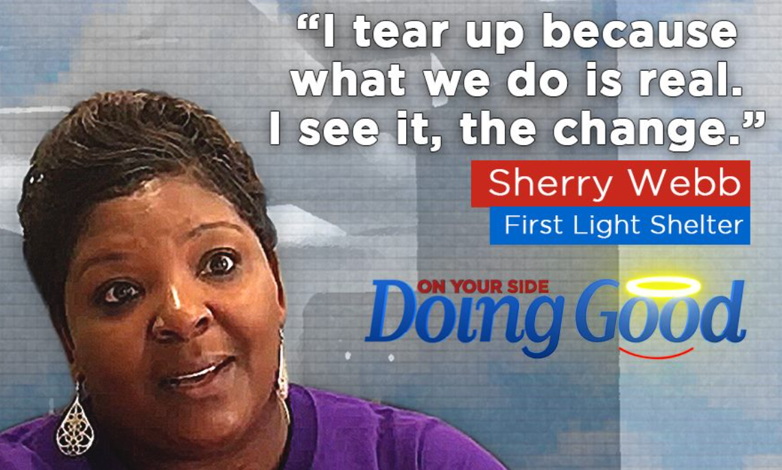 "Sherry Webb discusses the good we can do with WBRC's ""Doing Good"" program"