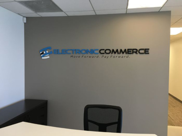 Custom logo lobby signs Orange County CA
