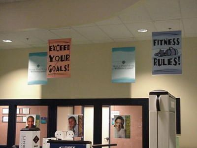 Ceiling Banners 2