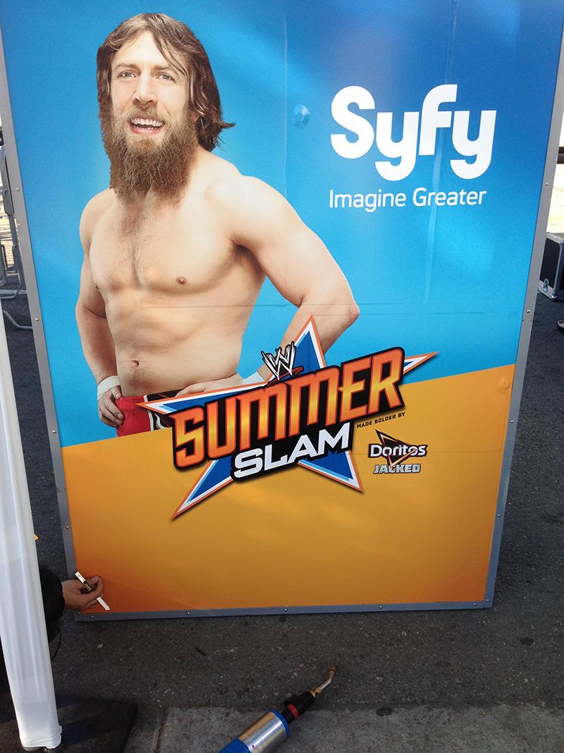 WWE Photobooth Wrap