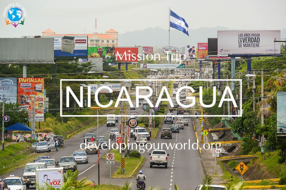 Book a Mission Trip to Nicaragua