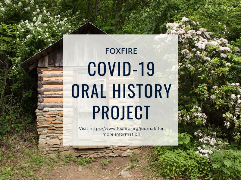 Sunday Mornin' Challenge: Participate in Foxfire's Oral History Project