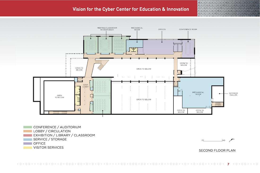 CCEI Second Floor Plan