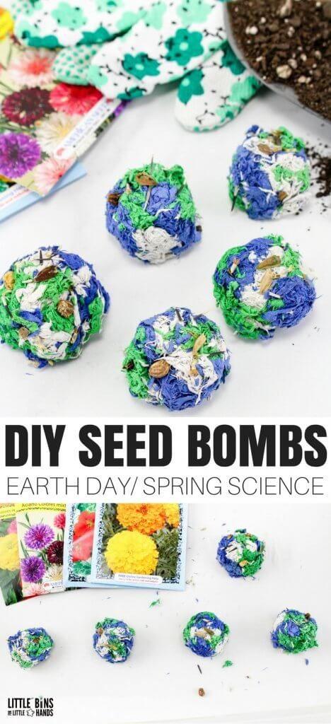 DIY SEED BOMB RECIPE