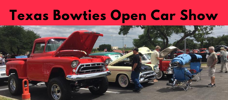 Texas Bowties Spring Open Car Show