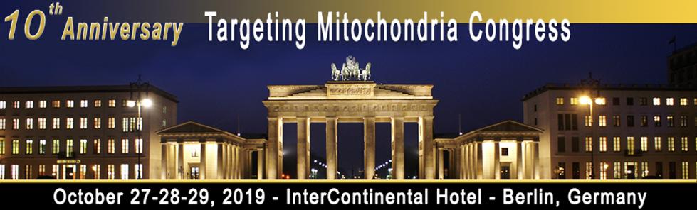 Targeting Mitochondria – World Congress