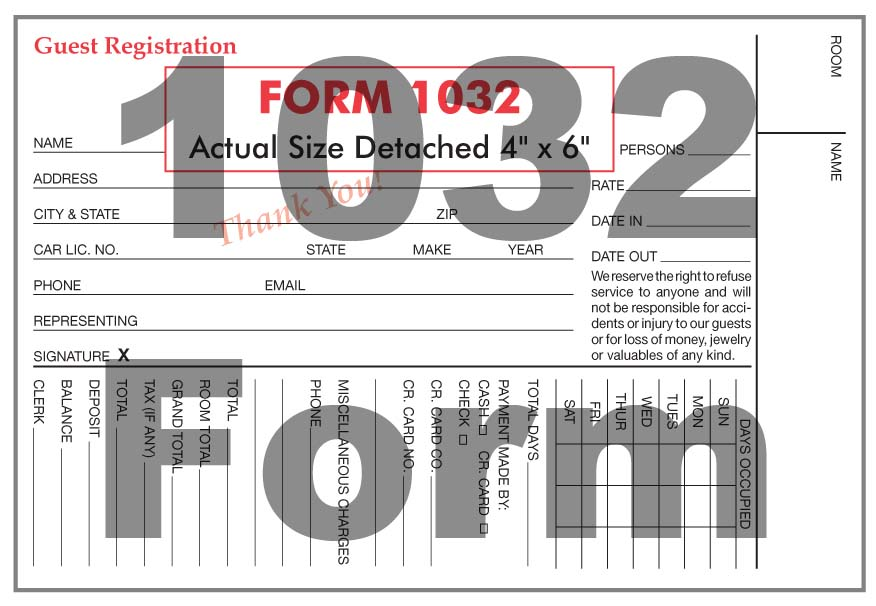 1032 Form