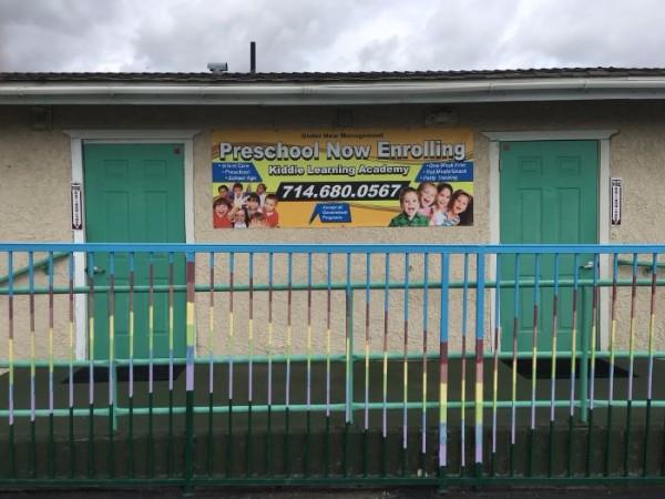 Banners for preschools in Orange County CA