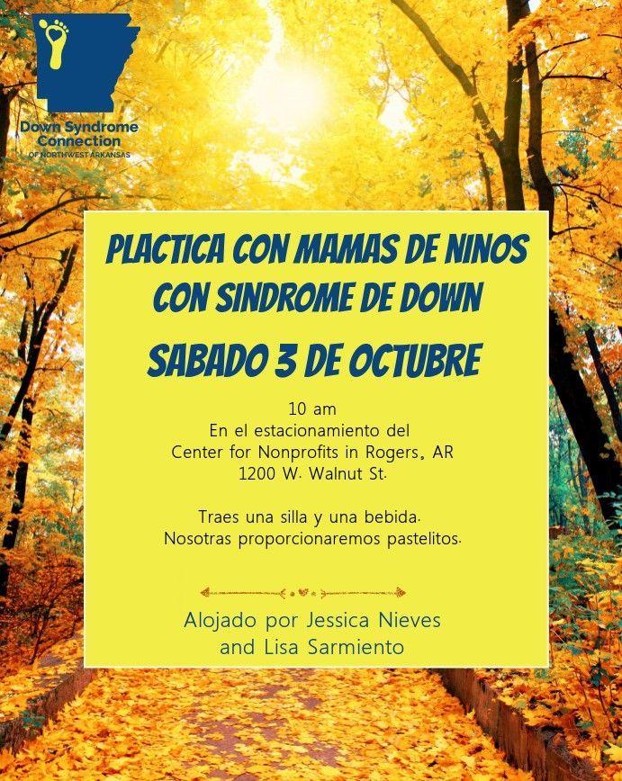 Plactica Con Mamas De Ninos Con Sindrome De Down