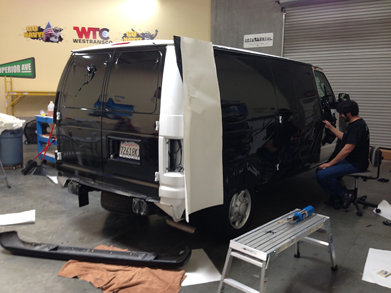 Vehicle Graphics Installation Wrap Installs Orange County Ca