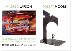 Honorary Artists Exhibition Series:  Mildred Lapson & Robert Moore
