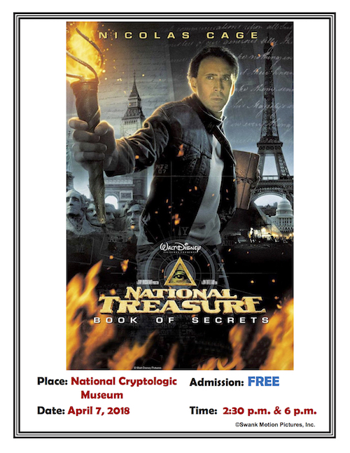 "<b>Movie Day at the Museum Featuring ""National Treasure""</b>"