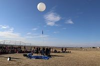 'Do You Want to Go to Space?': Mountain Vista Balloon Launch Aligns with STEM Movement at CCSD