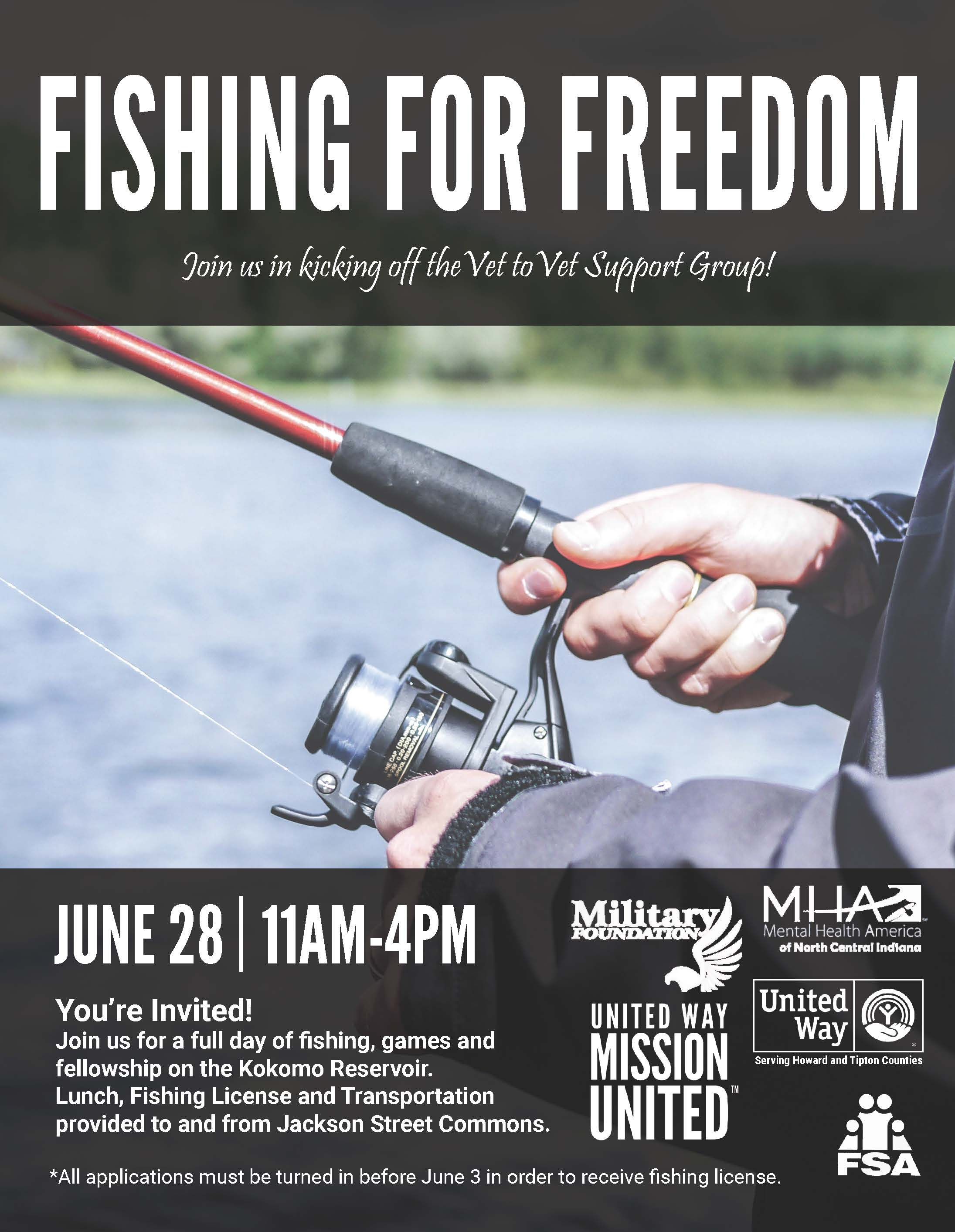 Fishing for Freedom - Vets